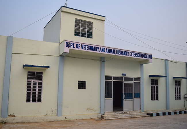 DEPT. OF VETY. And ANIMAL HUSBANDRY EXTENSION EDUCATION